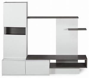 Grand Meuble Tv : grand meuble rangement tv ~ Teatrodelosmanantiales.com Idées de Décoration