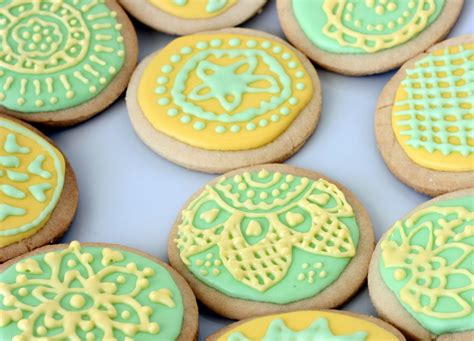 Daring Decorated Sugar Cookies With Daring Bakers  Bake Fresh