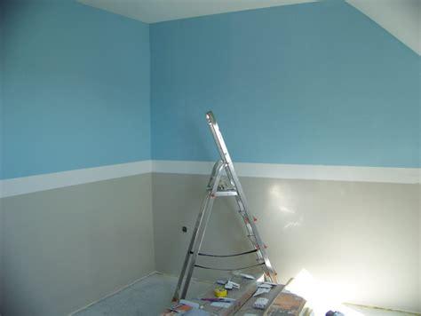 comment peindre une chambre avec 2 couleurs comment peindre une chambre bureau lepolyglotte
