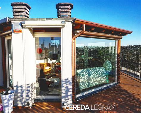 veranda legno realizzazione veranda in legno su misura a cereda