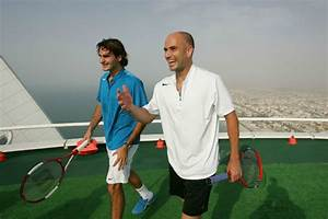 World's Highest Tennis Court at Burj Al Arab, Dubai