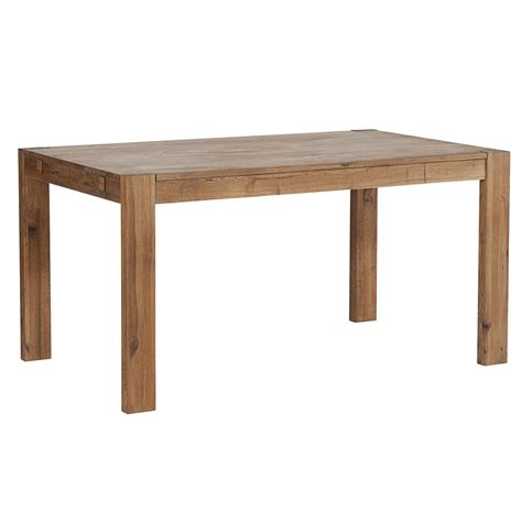 table en lignes pures pour la table en bois massif harmony