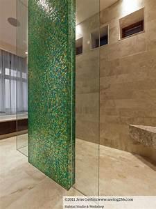 5 exemples de mosaiques dans la salle de bain le mag39 deco With deco mosaique salle de bain