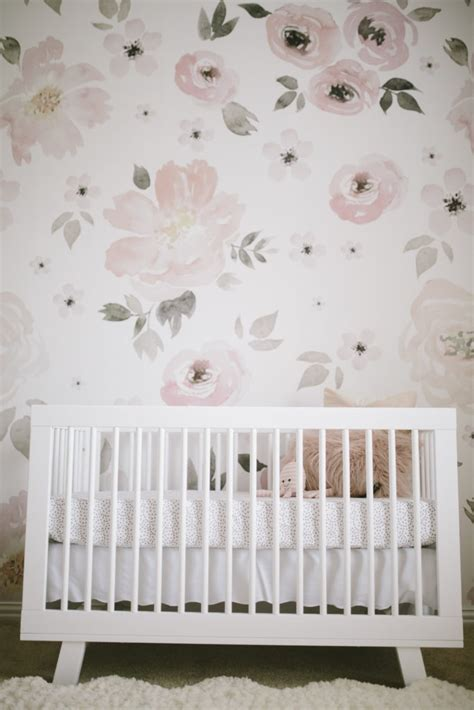 Harper's Floral Whimsy Nursery  Project Nursery