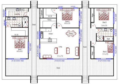 acreage ranch style house plan ranch house plans australian house plans bedroom house plans