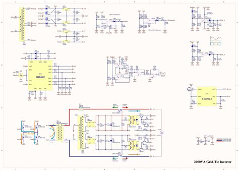 grid tie inverter schematic wiring library