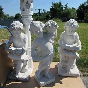Große Tierfiguren Für Den Garten : 3 gro e gartenfiguren putten aus stein wetterfest 80 120cm in eppingen sonstiges f r den ~ Indierocktalk.com Haus und Dekorationen