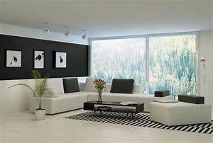 black and white living room decor ideas With black and white living room decor