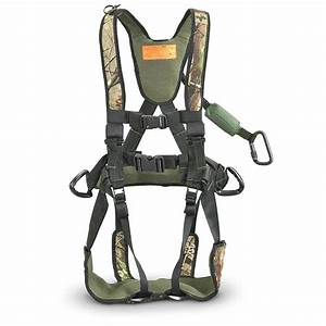 Trophy Line U00ae Armour Lite Safety Harness  Realtree U00ae Apg