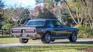 1968 Mustang Fog Lights 1968 Ford Mustang Gt California Special W218 1
