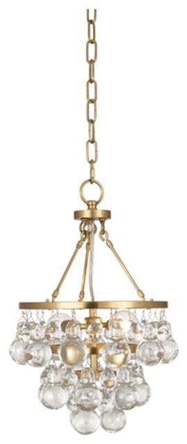 robert bling antique brass chandelier transitional