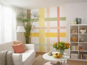 Wände Farbig Gestalten : die besten 25 wandgestaltung streifen ideen auf pinterest wandgestaltung streifen ideen wand ~ Markanthonyermac.com Haus und Dekorationen
