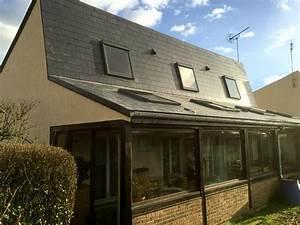 Demoussage Toiture Ardoise : r fection d 39 une toiture ardoise en fibres ciment othis ~ Premium-room.com Idées de Décoration