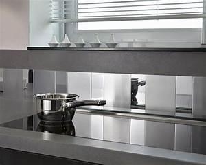 Crédence Adhésive Cuisine : cr dence cuisine en inox http jardin et ~ Melissatoandfro.com Idées de Décoration