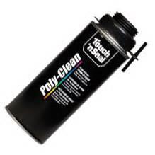 poly clean foam gun cleaner warehousebay