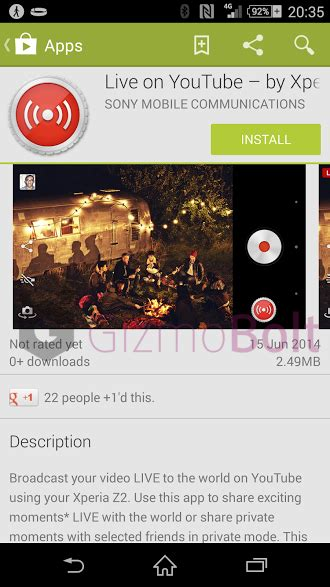 sony live on app 01 00 12 relaunched on play store