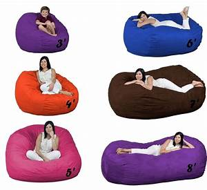 Bean, Bag, Chairs, Oversized, Foam, Filled, Fugu, Brand, Beanbags, All, Sizes, And, Colors