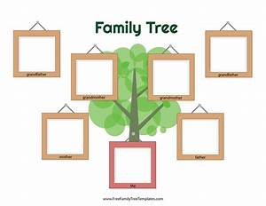 picture of family tree template - picture frame family tree template free family tree