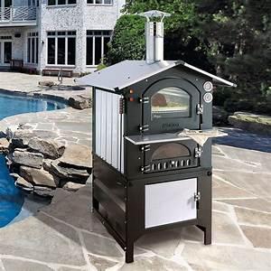 Pizza holzbackofen fontana 3 jahre garantie pro idee for Französischer balkon mit pizza und brotbackofen garten