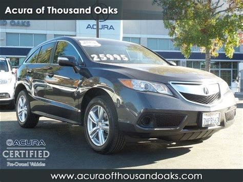 2015 acura rdx in california for sale 275 used cars from