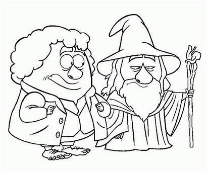 Hobbit Coloring Printable Dwarves Colouring Lego Doctor