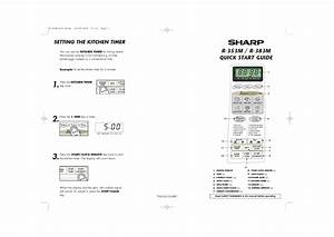 Sharp R  Operation Manual  U2014 View Online Or Download Repair Manual