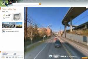 Bing vs Google Maps Street View