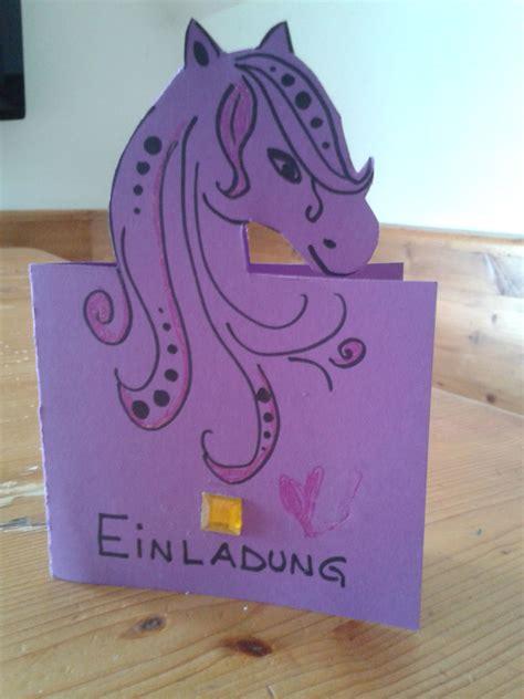 einladungskarten kindergeburtstag selber basteln