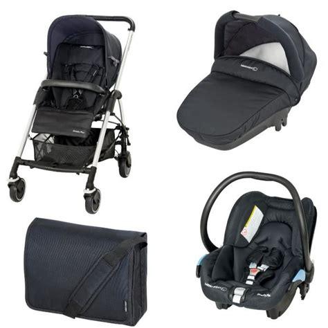 siège auto bébé confort groupe 0 1 bebe confort poussette combinée trio streety total