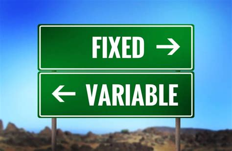 Fixed Vs Variable Rate Mortgages