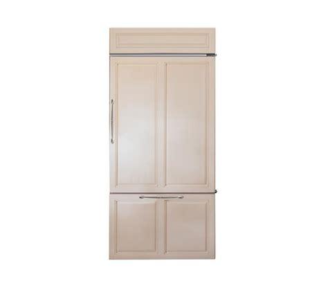 monogram zicnhrh  built  bottom freezer refrigerator castle kitchens