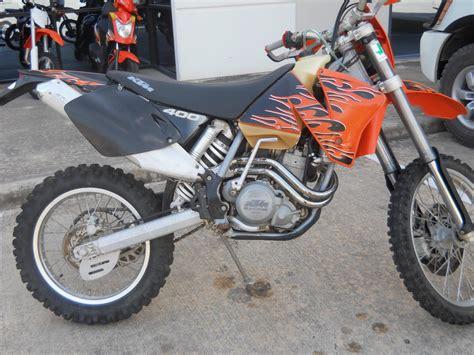 ktm exc 400 2007 ktm 400 exc racing pics specs and information