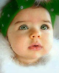 Gorgeous baby girl with green eyes. | EYES = Windows to ...
