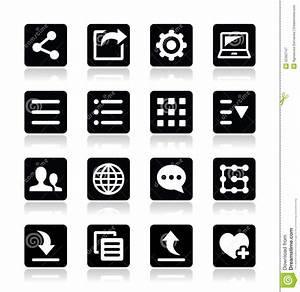 Image Gallery mobile app menu icons