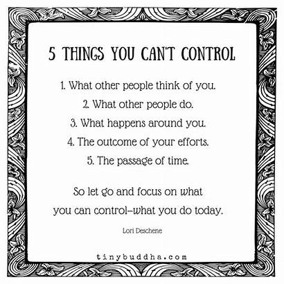 Control Quotes Focus Buddha Cant Deschene Lori