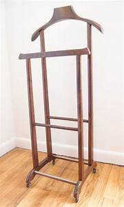 Valet Stand Butler Suit Stand Danish Modern Decor Mid