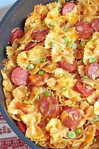one pot kielbasa pasta keeprecipes your universal