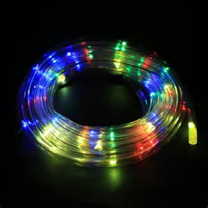 2015 new arrival 7m 50 solar led rope light solar multi color christmas party outdoor decor