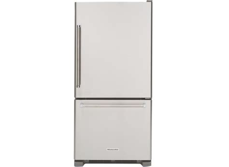 Kitchenaid Refrigerator Reliability by Kitchenaid Krbr109ess Refrigerator Consumer Reports