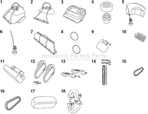 parts   bissell vacuum cleaners