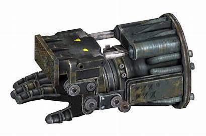 Fallout Power Fist Vegas Powerfist Wikia Bb