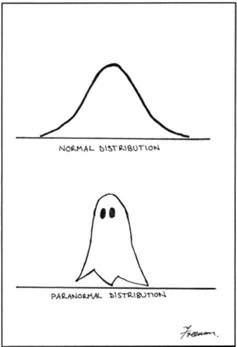 big data humor paranormal distribution insidebigdata