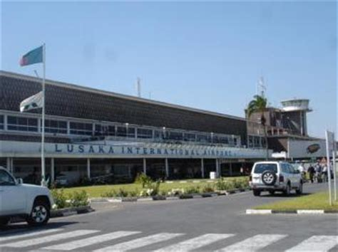 zambias main airport plunged   hour power outage