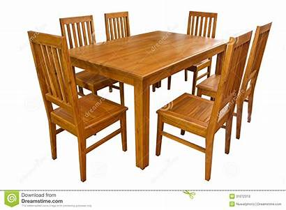 Table Chairs Clipart Dining Tables Background Isolated