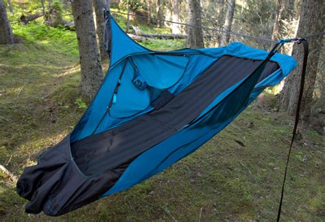 Lay Flat Hammock by Flat Cing Hammock Converts To Chair Gearjunkie