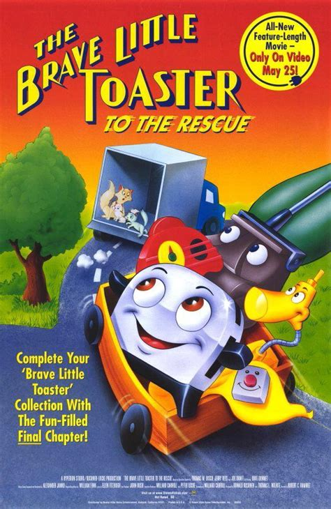 the brave toaster to the rescue trailer the brave toaster to the rescue 1997 filmaffinity