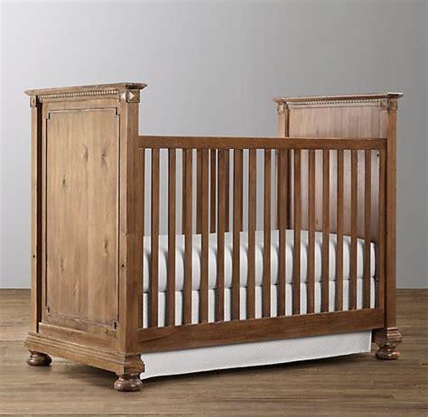 restoration hardware baby crib panel crib