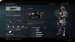 Chain SAW Light Machine Gun Weapon Guide Call of Duty ...