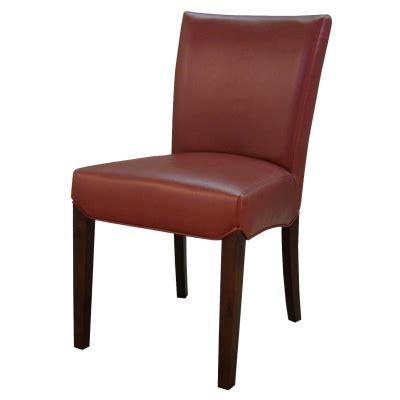beverly bonded leather dining chair