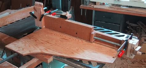 home  table  finger joint jig